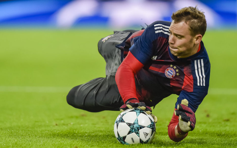 Germany, Bayern goalkeeper Manuel Neuer out for rest of 2017