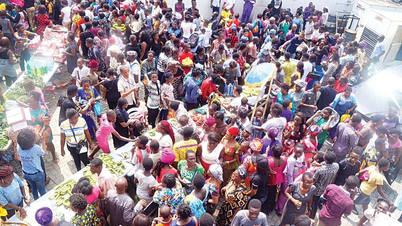 Lagosians And For The Aunt Market — World 14 Newssaturday Landa Guardian From Succour Magazine Square 000 News - Nigeria – Comes