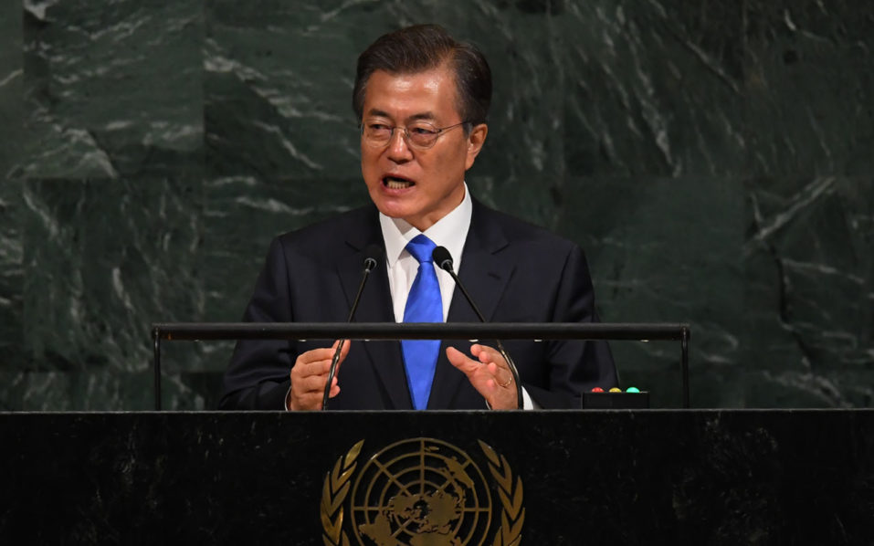 South Korea urges North to abandon nukes