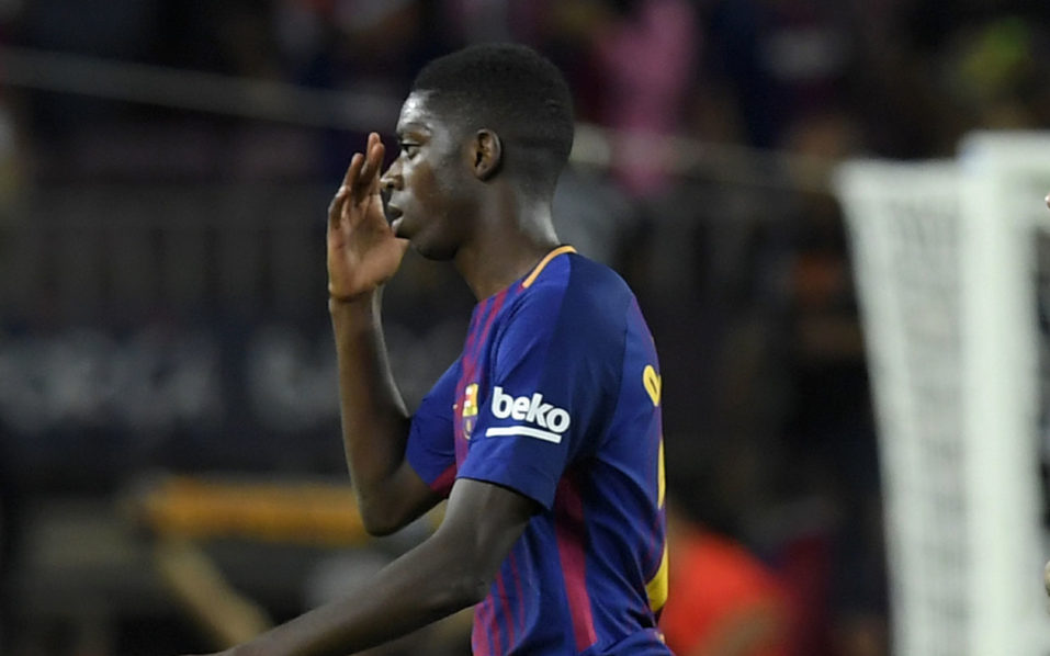SPORT: Barca lower Dembele recovery time after operation