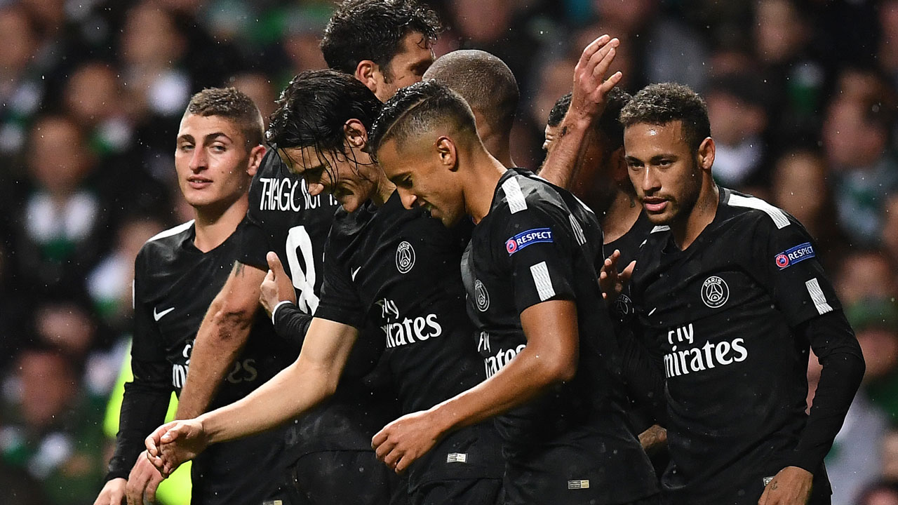 U0026 39 MCN U0026 39 Lead Five Star PSG Past Hapless Celtic The
