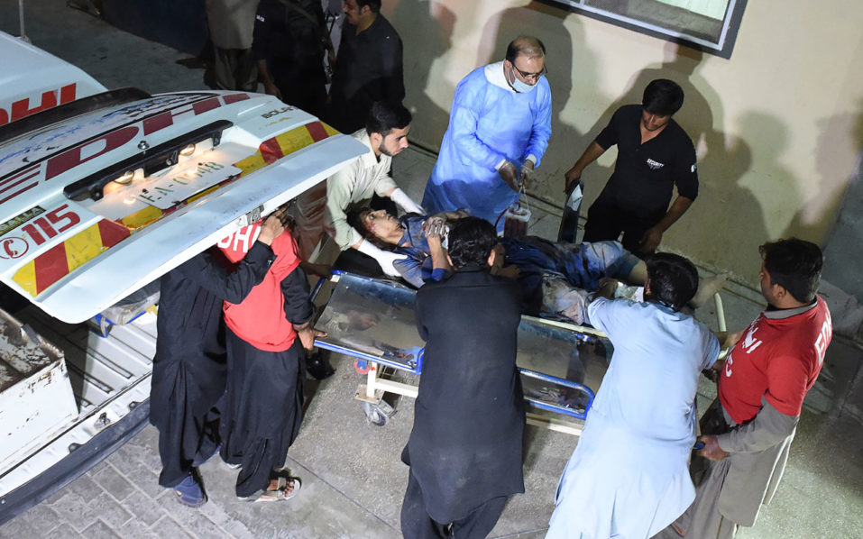 Killed and injured 6 people in a shooting incident in Pakistan
