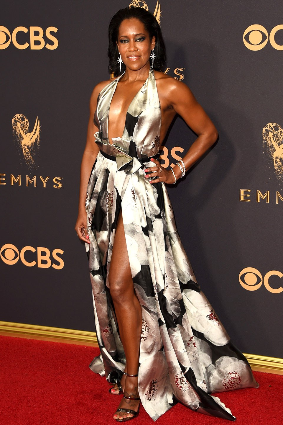 Celebrities Serving Looks At The 2017 Emmy Awards The