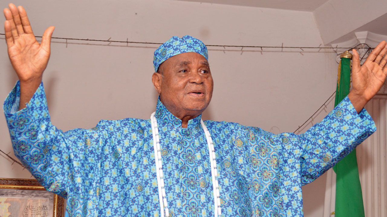 Chief Gabriel Igbinedion. Photo: Guardian Nigeria