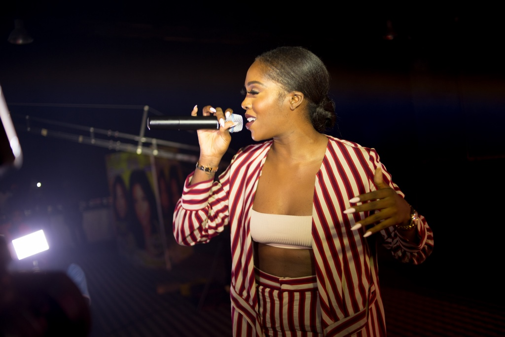 Tiwa Savage Rocks At Mega Growth Launch