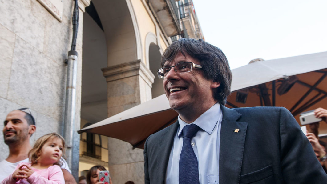 Ousted Catalan leader's party shelves 'unilateral' independence push