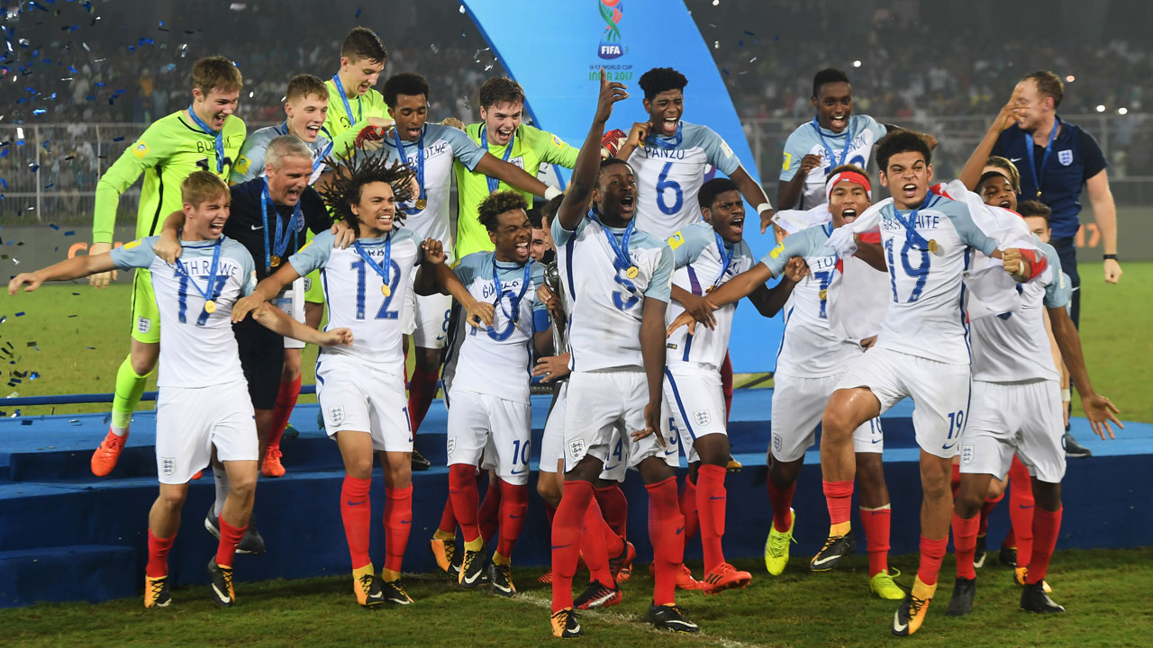 Wenger hails England youth policy after U17 win