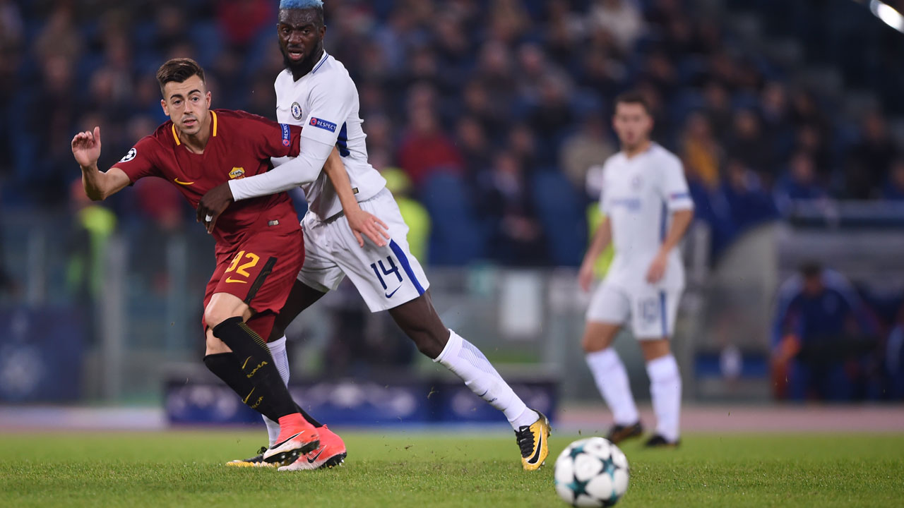 El Shaarawy double as Roma maul Chelsea — Sport — The Guardian