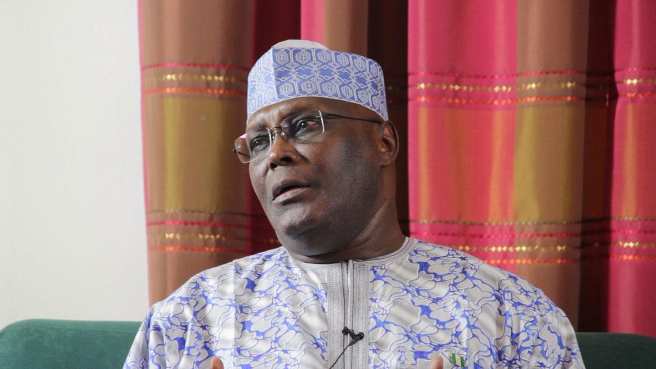 Buhari mocks Atiku Abubakar's exit from APC