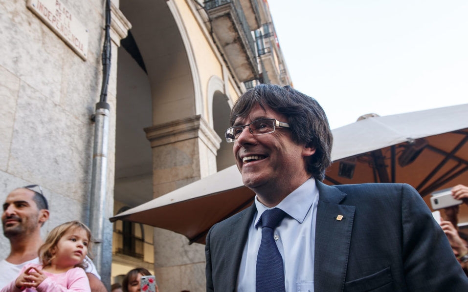Fugitive ex-member of Catalan government moves to Scotland