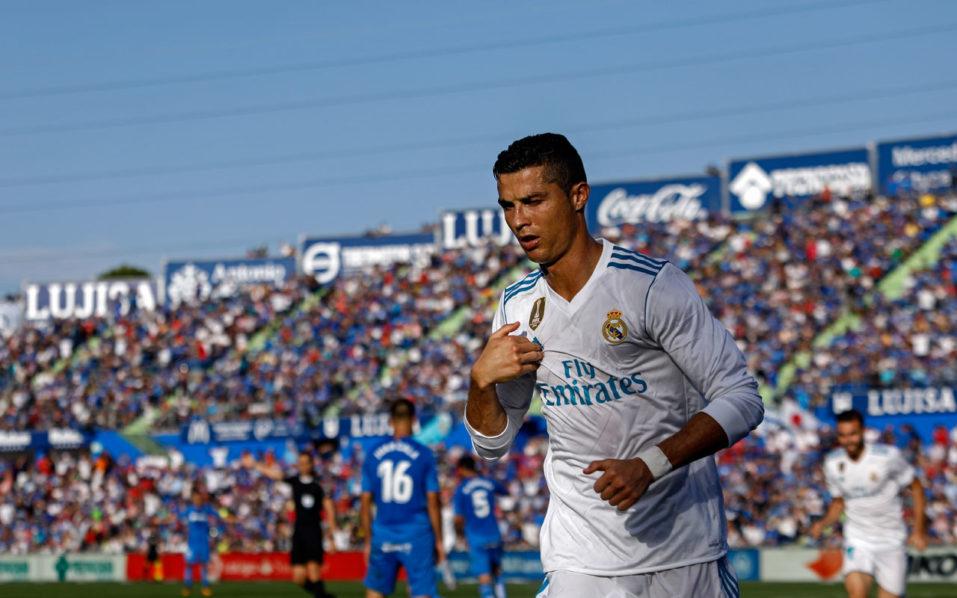 Late Ronaldo winner rescues Real at Getafe