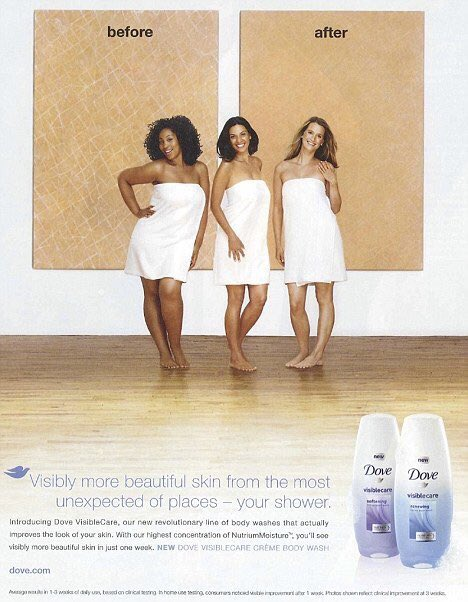 Dove slammed over soap ad showing black woman turning white