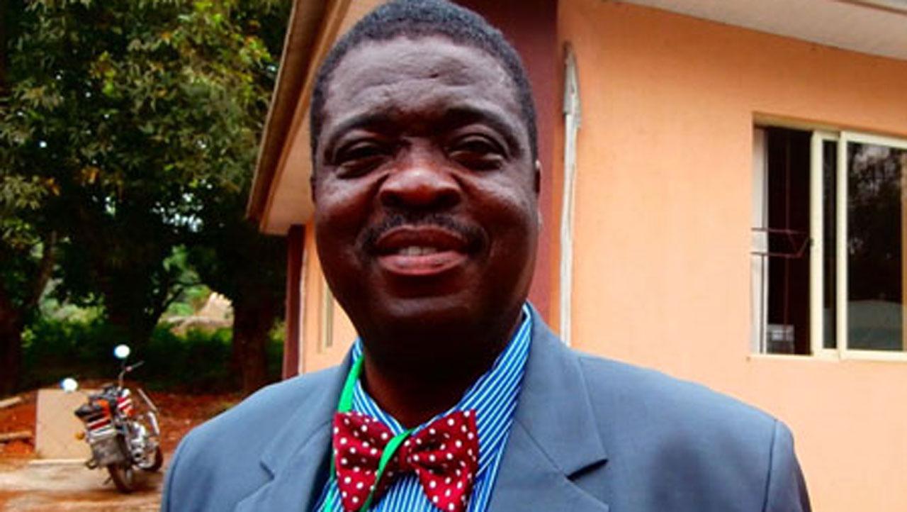 Ogun state Polytechnic Rector smiles. Photo: Guardian, Nigeria.