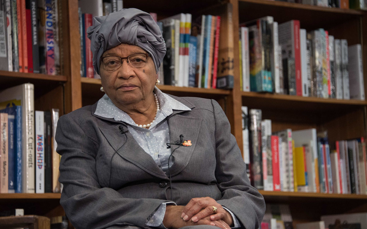 Liberia's Unity Party expels Johnson-Sirleaf