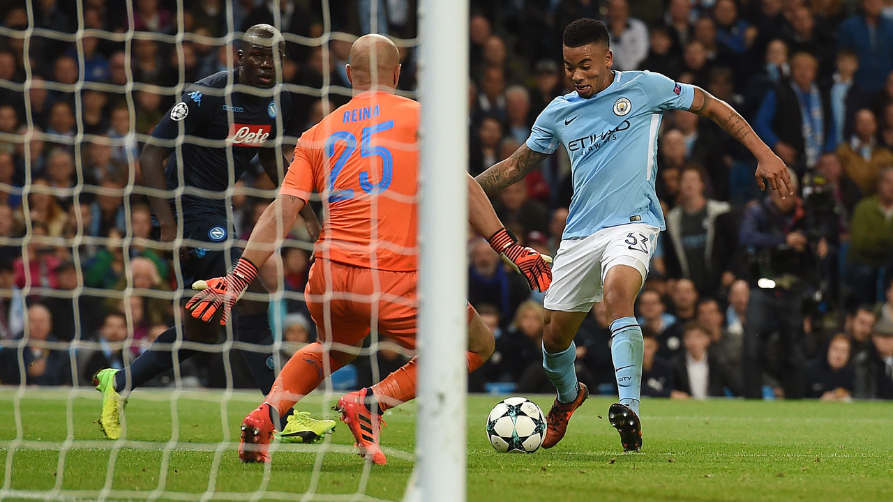 Jesus earns Man City narrow win over Napoli