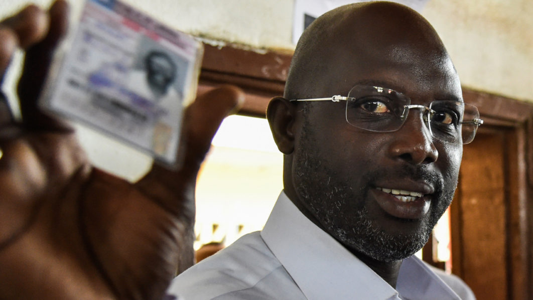 George Weah and Boakai ahead in Liberia election partial results