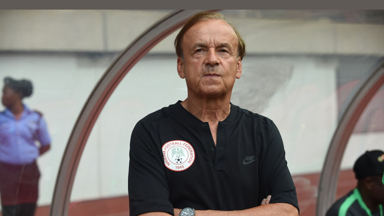 Rohr warns girls not to visit Super Eagles' camp in Russia