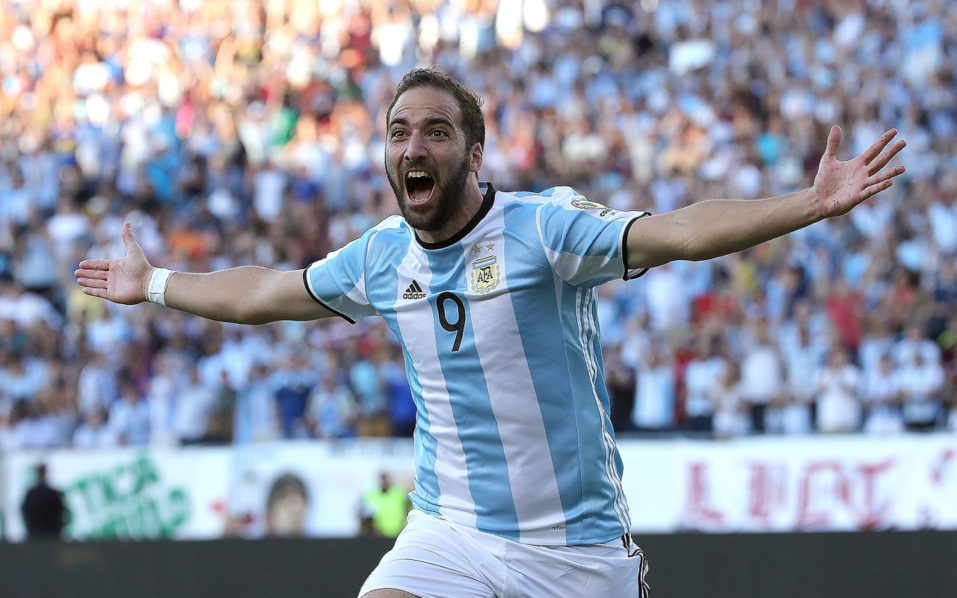Image result for Gonzalo Higuain with national team