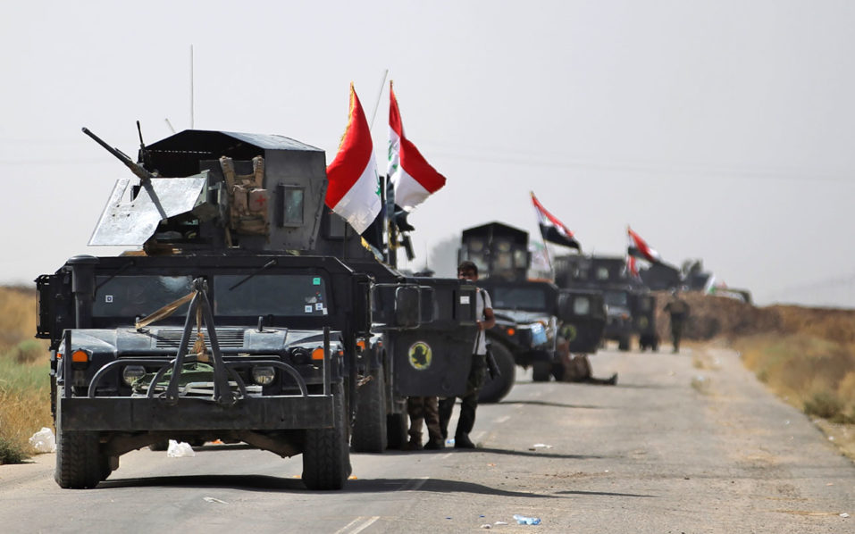 Iraqi Army Says Forces Retake Center of IS Bastion Hawija