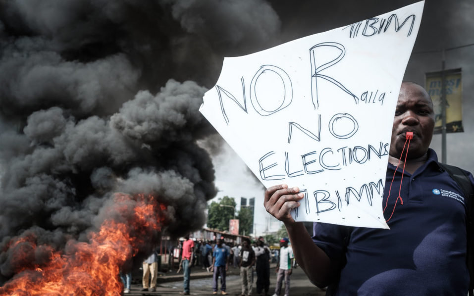 Kenya bans protests in main city centres