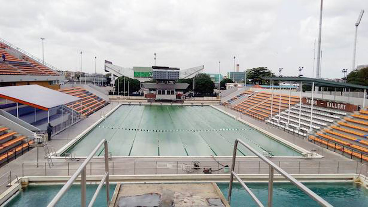 18 Years After National Stadium Swimming Pool Comes Alive Sport The Guardian Nigeria