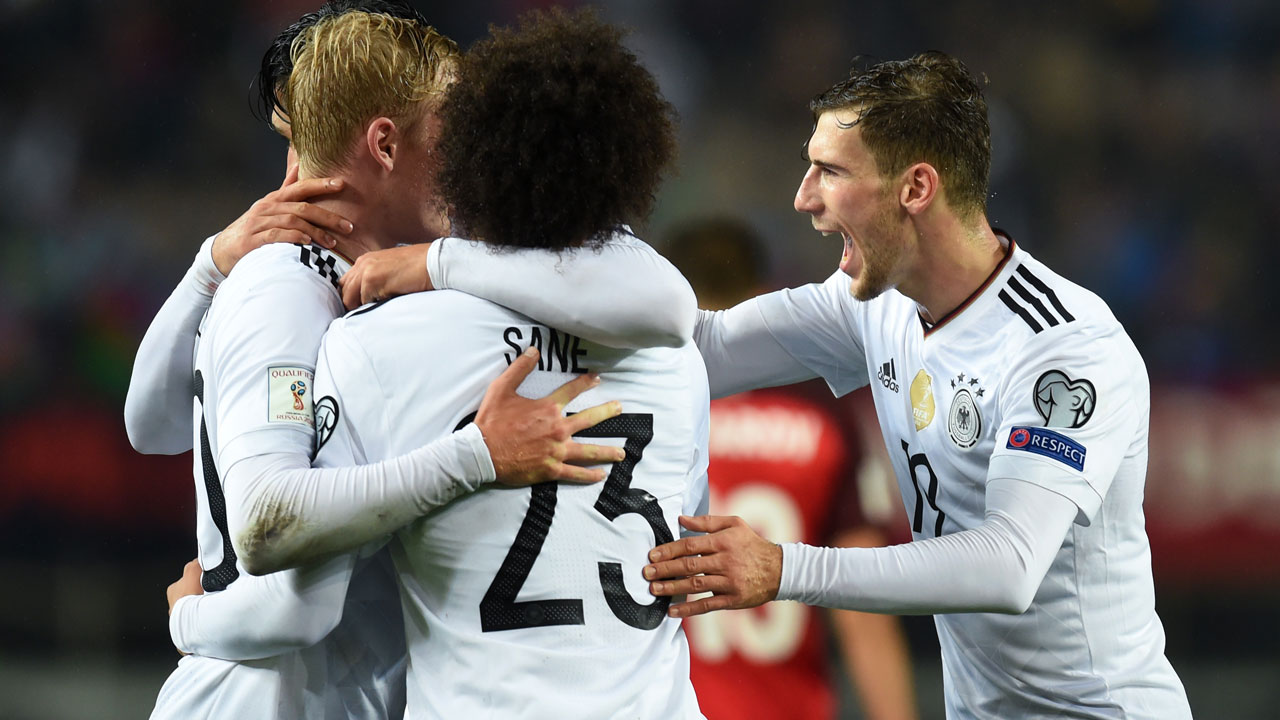 Germany win historic 10th World Cup qualifier