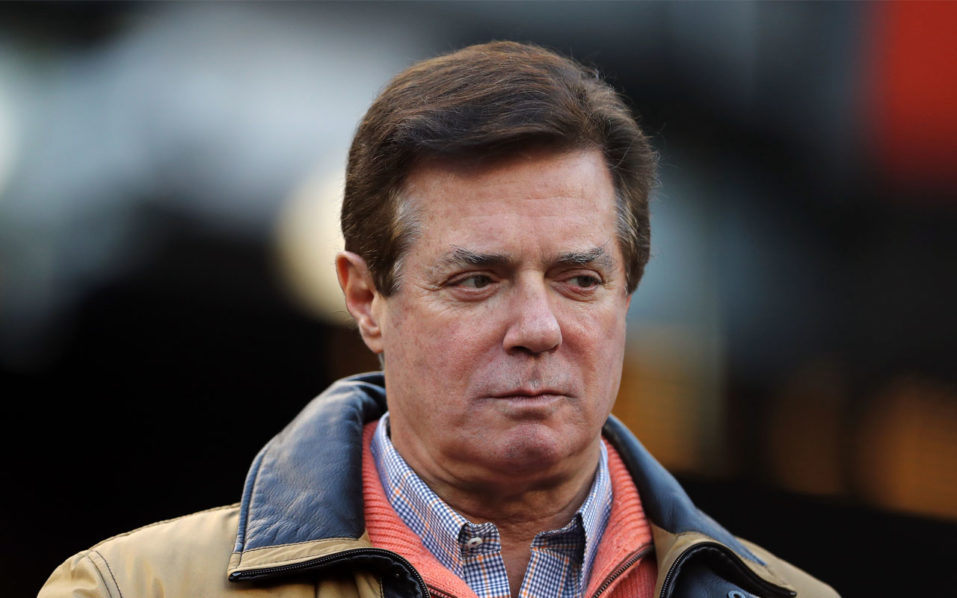 Trump's ex-campaign manager Paul Manafort charged with conspiracy against US