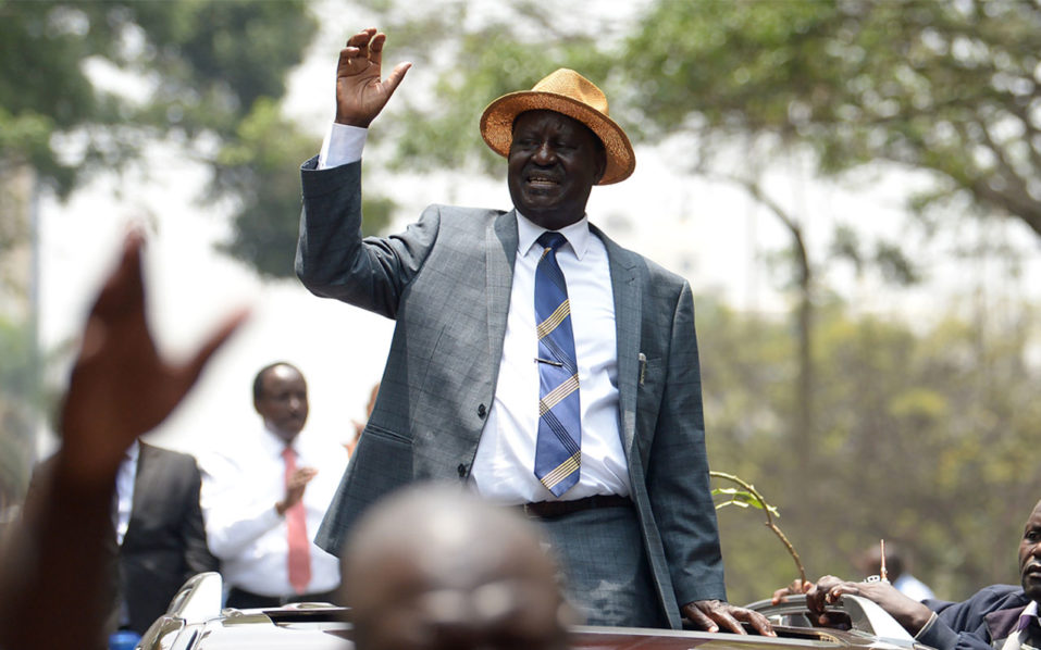 Kenyan opposition leader Raila Odinga withdraws from poll re-run