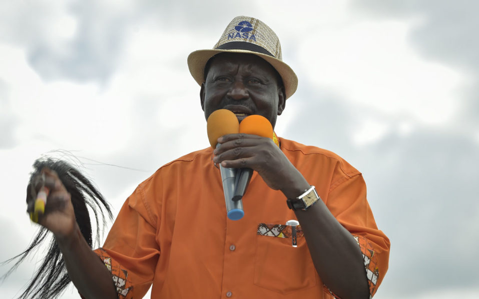 After Kenyatta win, all eyes on embattled Odinga