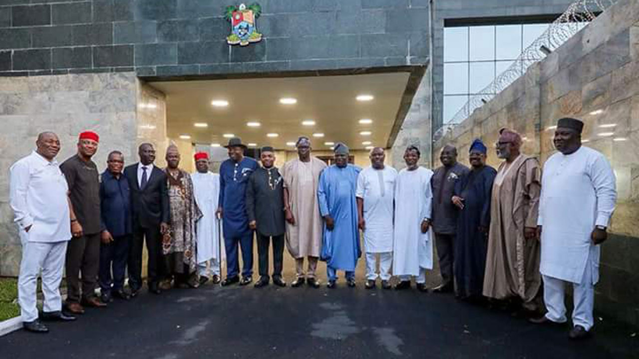 2023: Southern Governors Settles For A Southern President