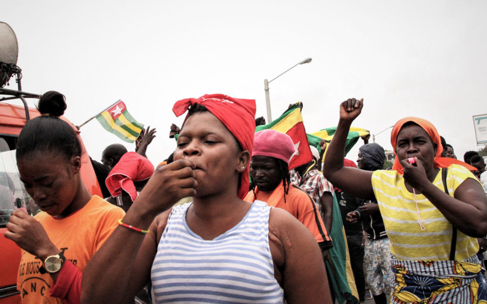Thousands rally in Togo for fresh protests