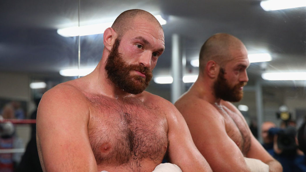 Tyson Fury has lost nearly four stone on new 3500kcal diet