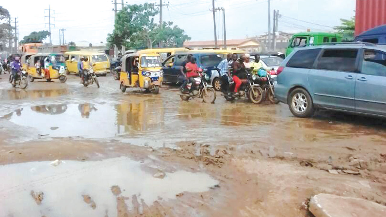 Image result for Burden of Bad Roads in Lagos