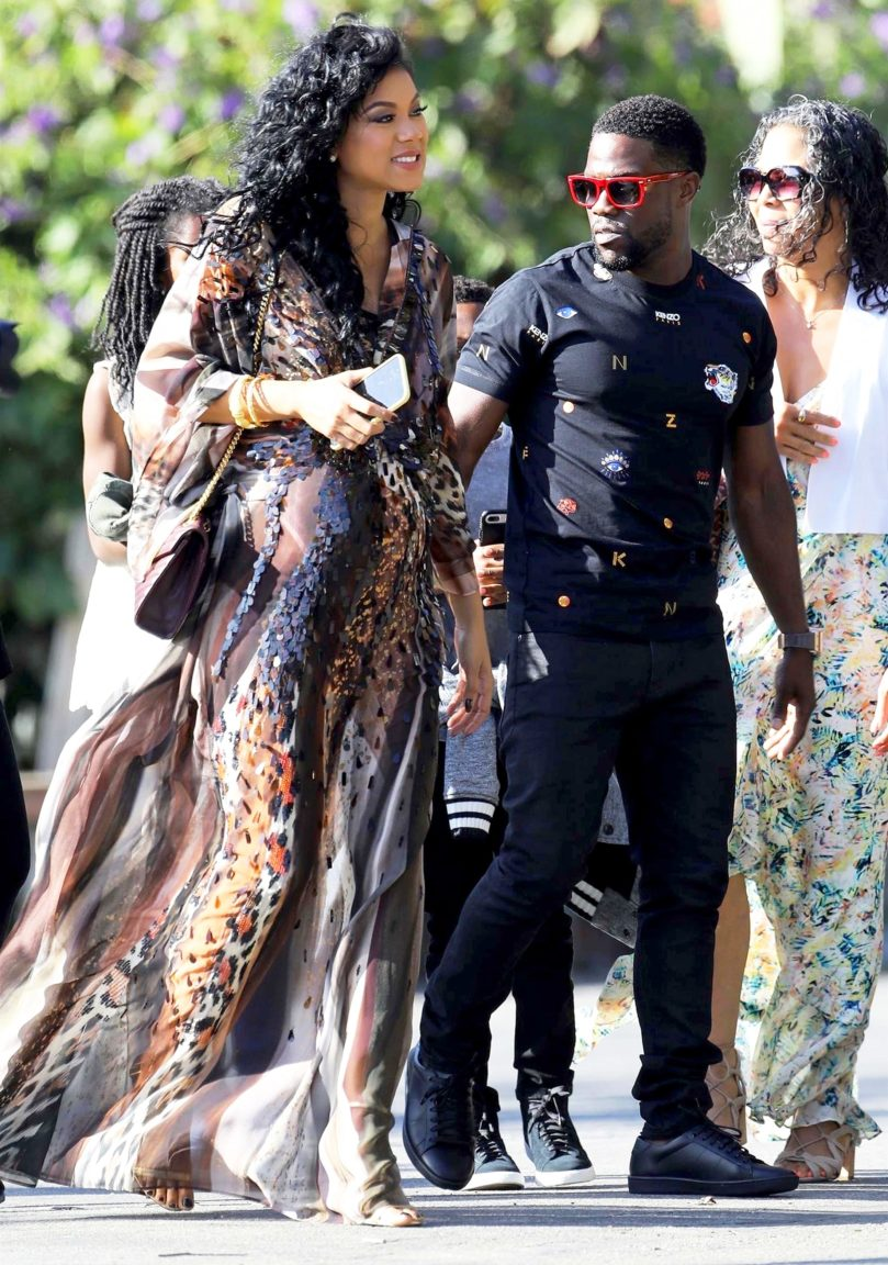 Kevin Hart Throws Lavish Baby Shower For Wife Eniko