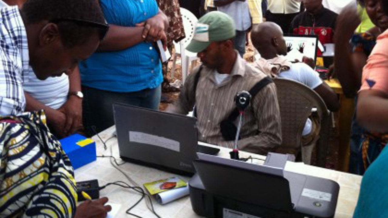 Image result for INEC voters registration