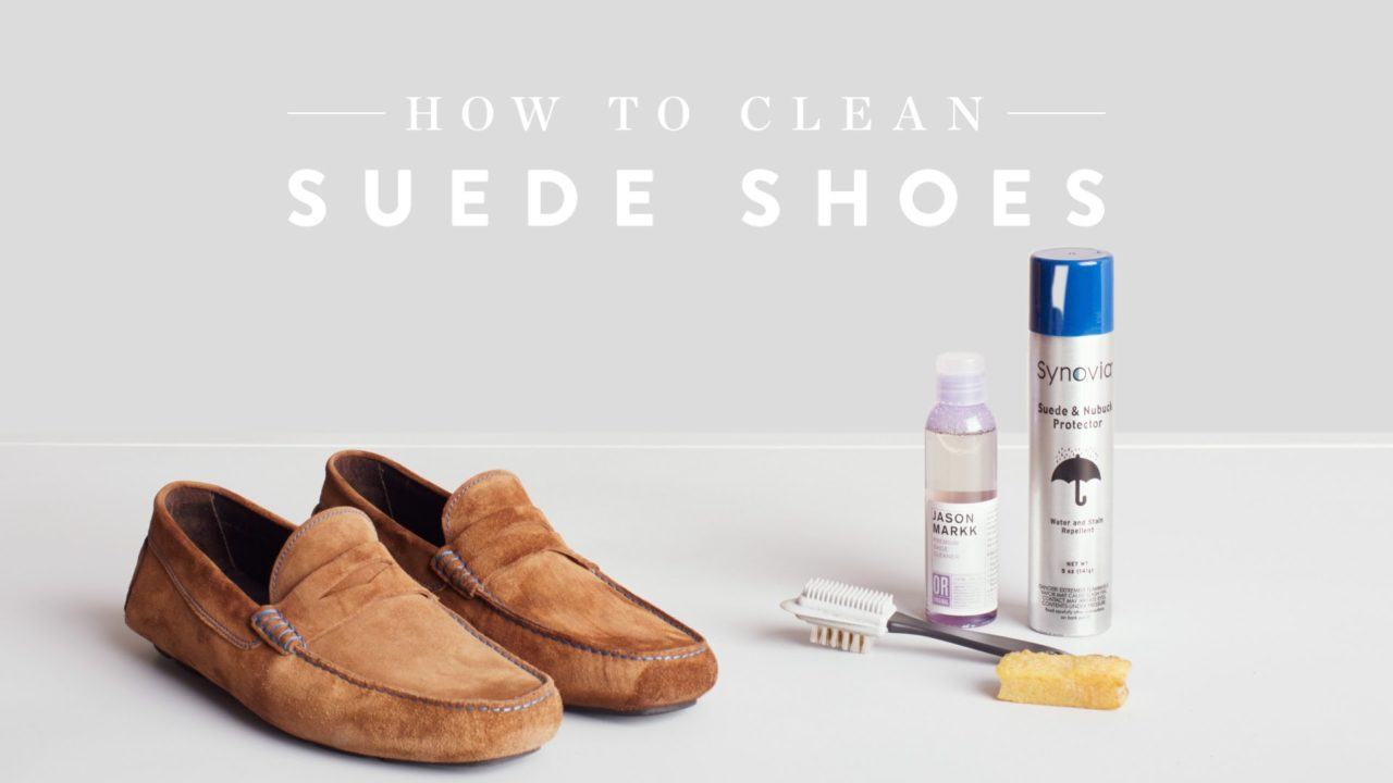 How To Take Care Of Suede Shoes
