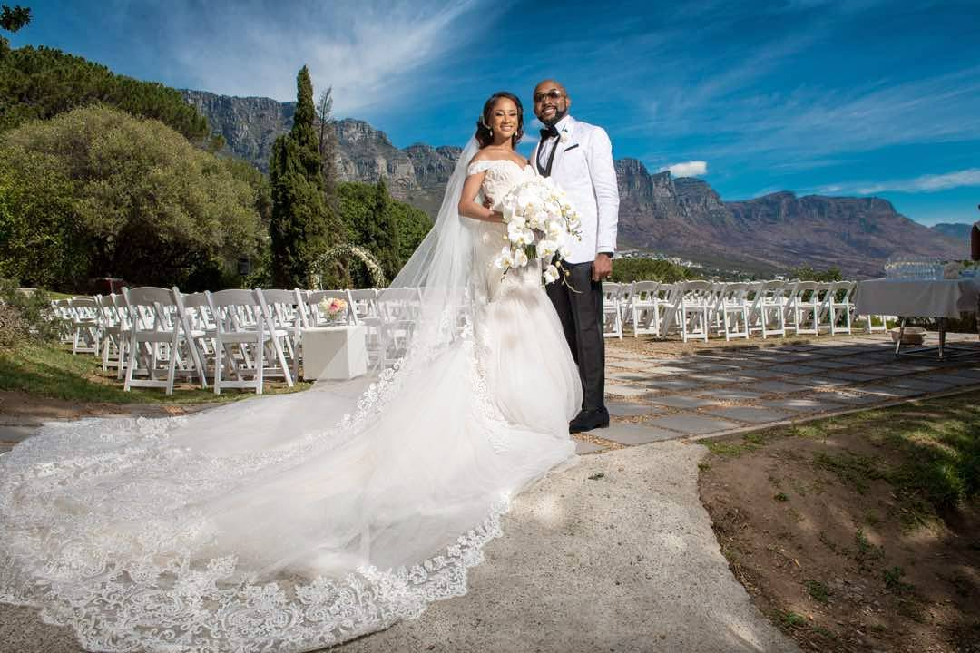 Adesua And Banky W S White Wedding Is Curly Taking Place In Cape Town South Africa Scroll Through For Photos Videos Of Their Beautiful