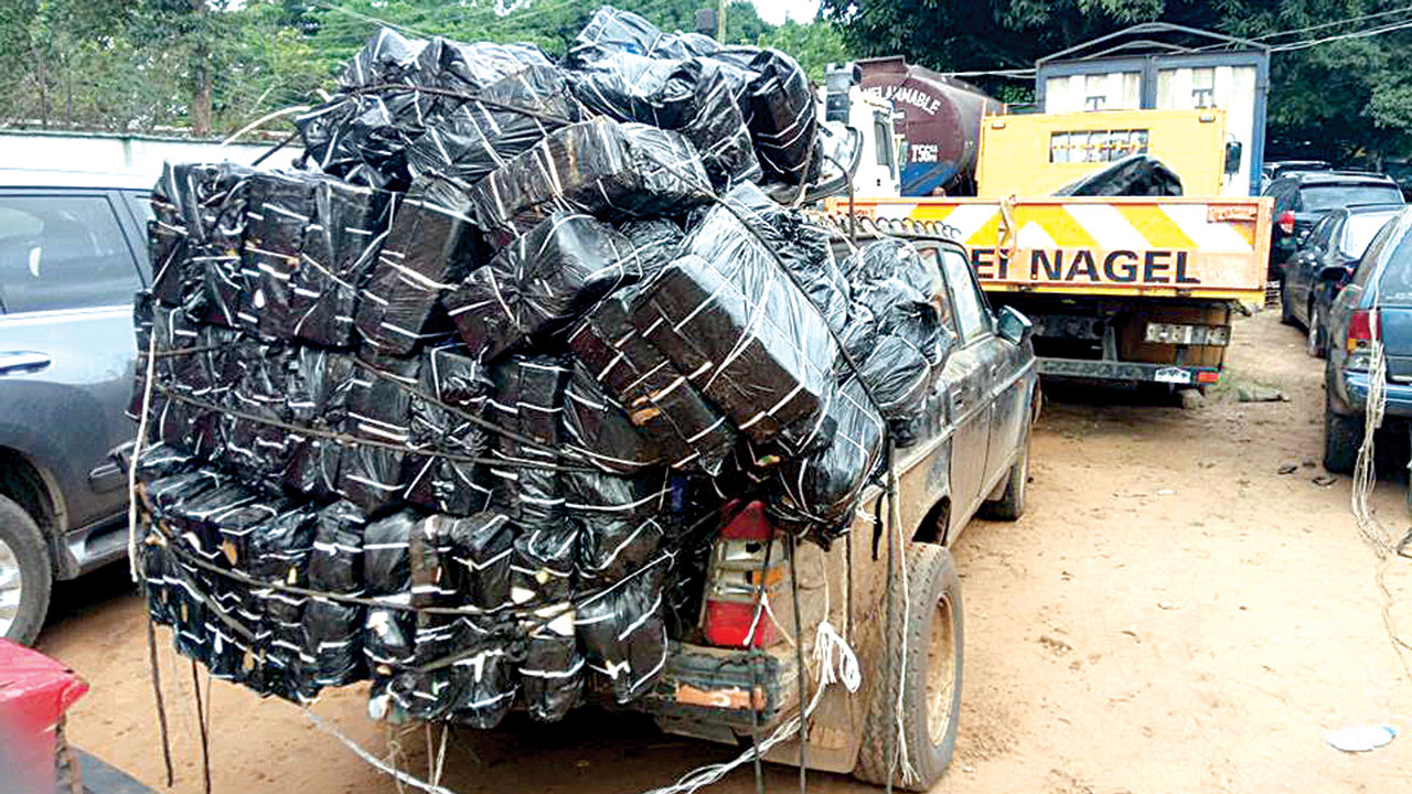 Image result for Customs seizes 27 vehicles with smuggled items
