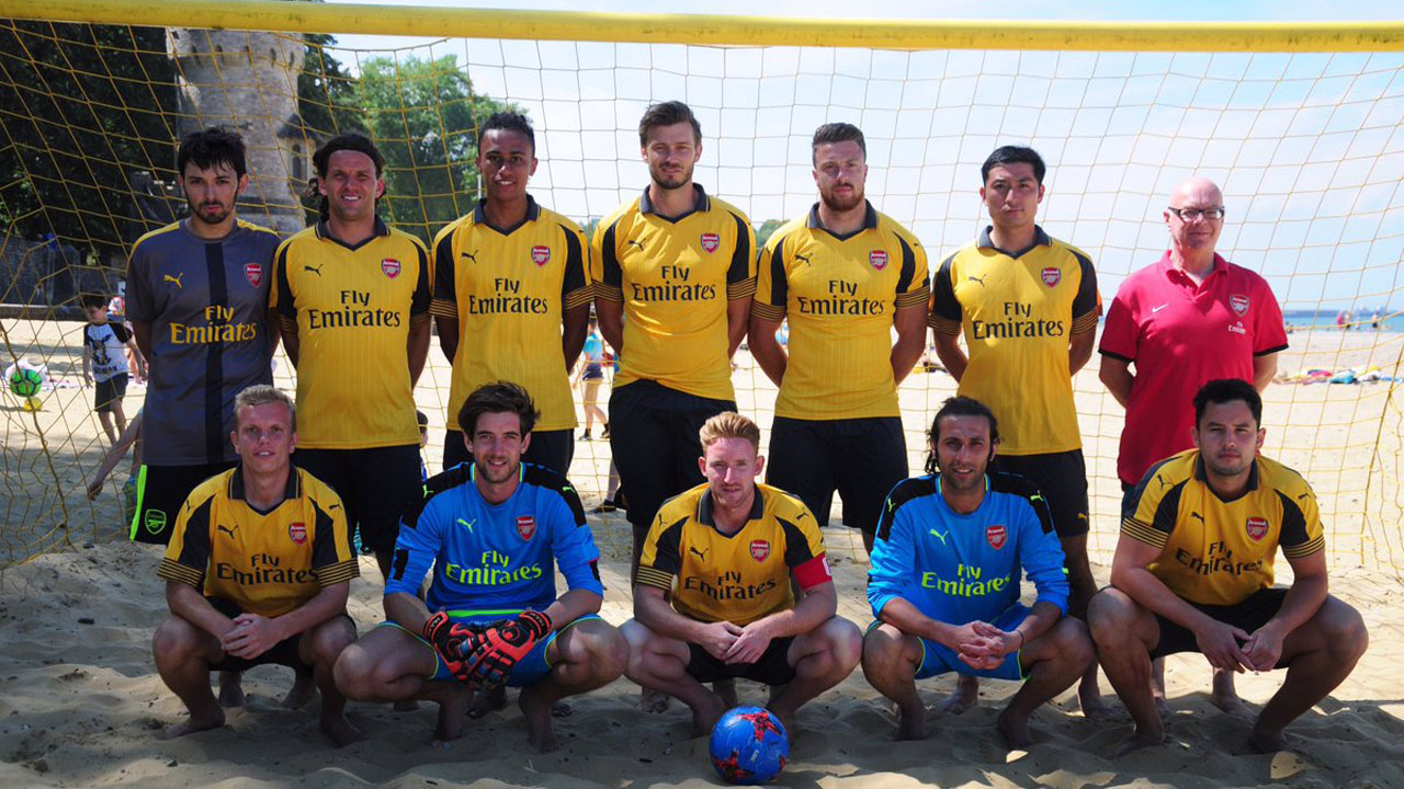 Arsenal Beach Soccer team to play at COPA Lagos