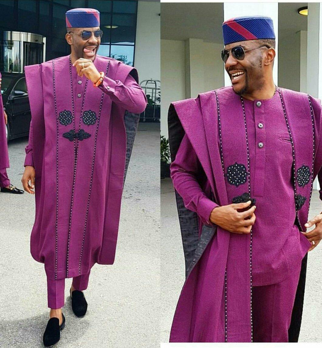 The Reale Designer Behind Ebuka's Agbada To #BAAD2017: Ugochukwu ...