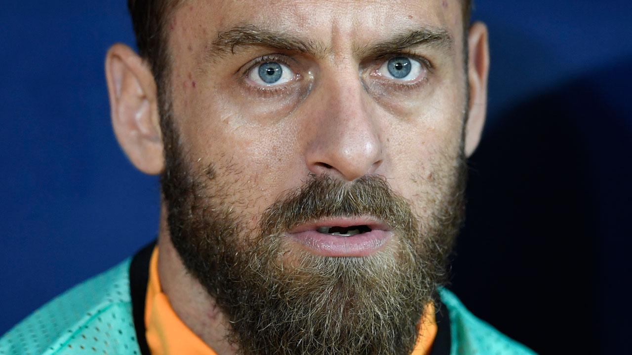 Roma skipper De Rossi s two match ban — Sport — The Guardian