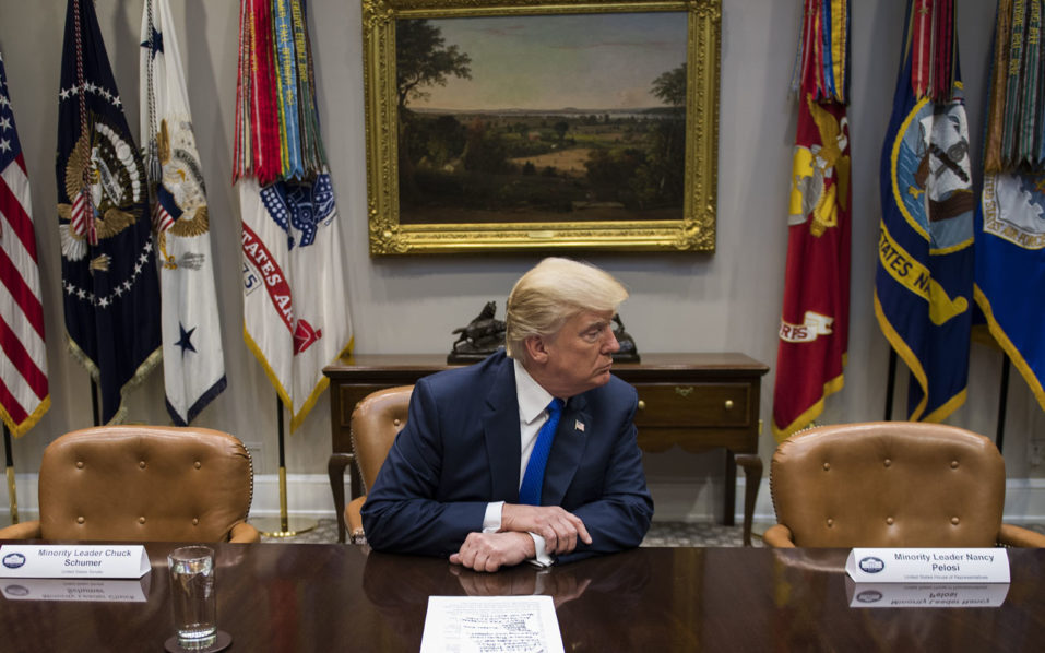 Trump, Democrats spar as US government shutdown looms