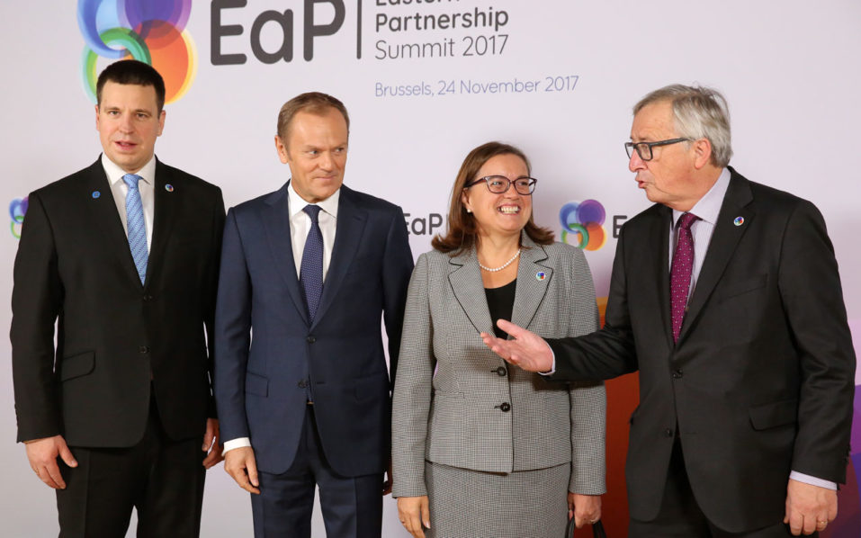 5th Eastern Partnership summit kicks off in Brussels