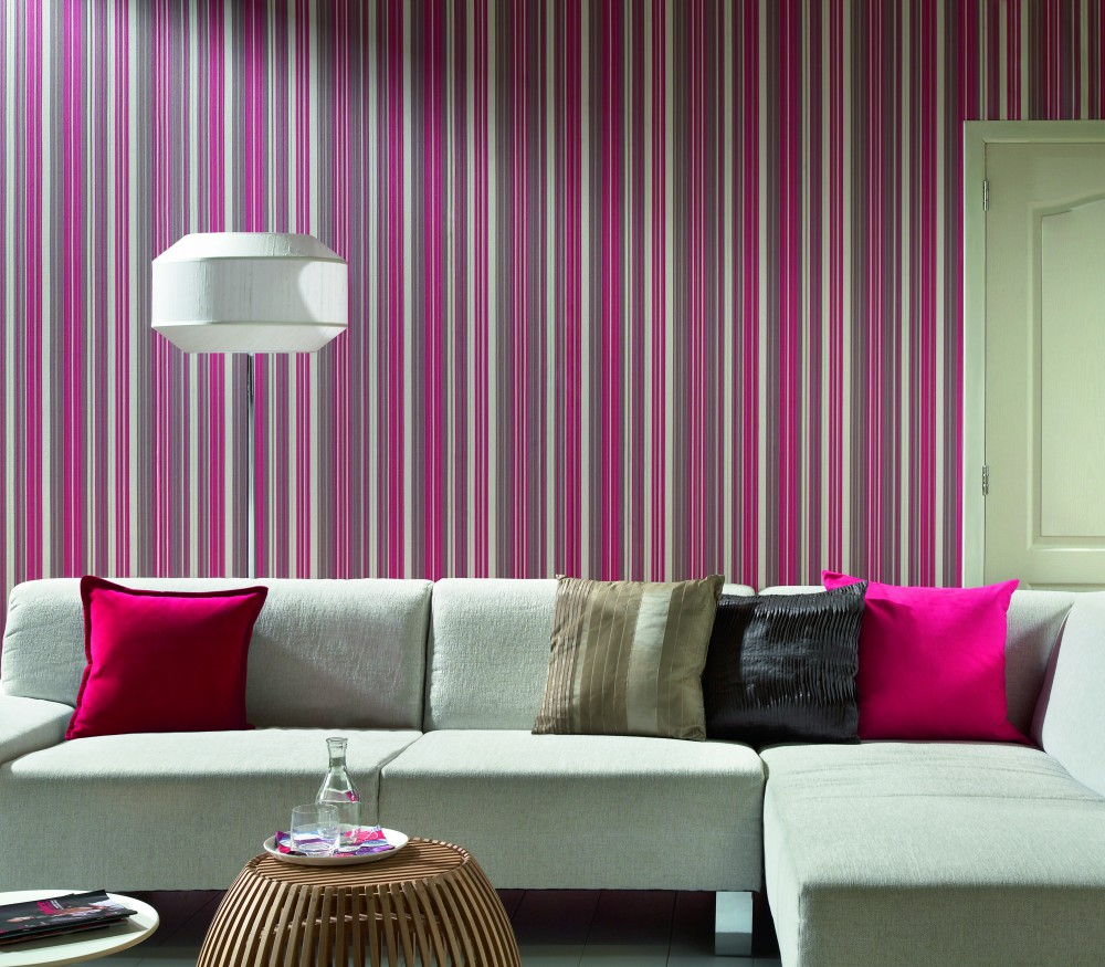 5 simple tricks to make your room standout guardian life for Wallpaper design living room ideas