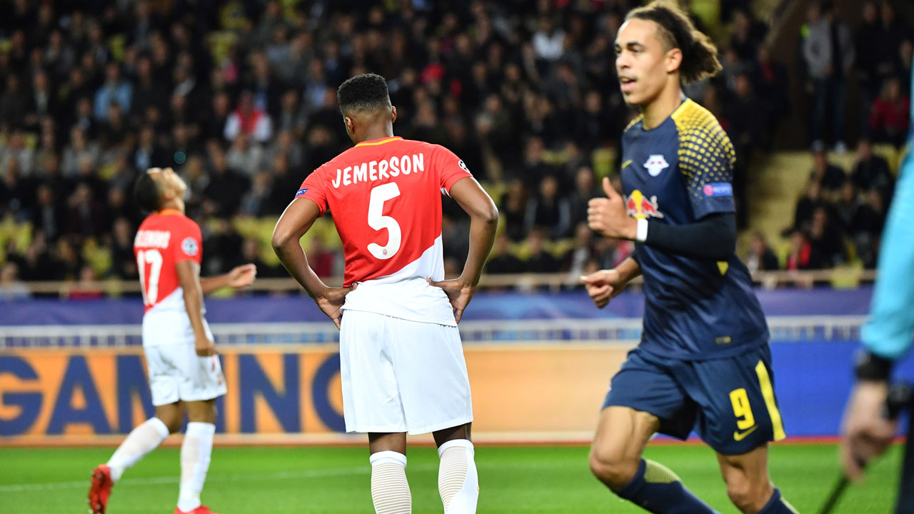 SPORT: RB Leipzig destroy Monaco to aid last 16 hopes