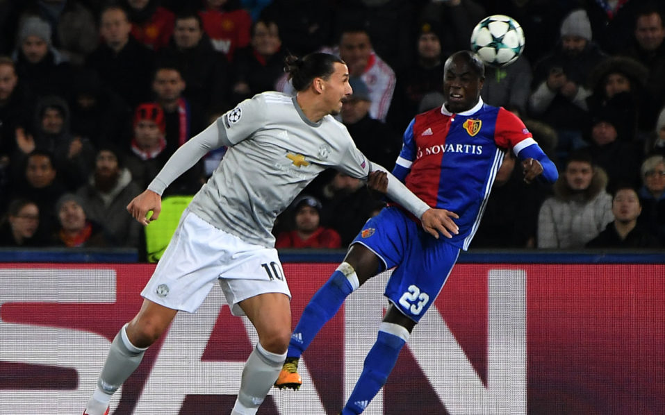 Champions League: Ibrahimovic makes history as Basel shock Manchester United