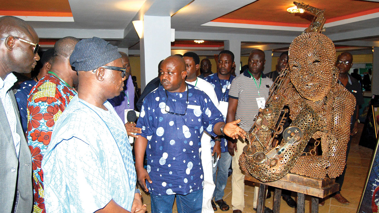 Oshodi projects traditional lore and myths of Yoruba culture