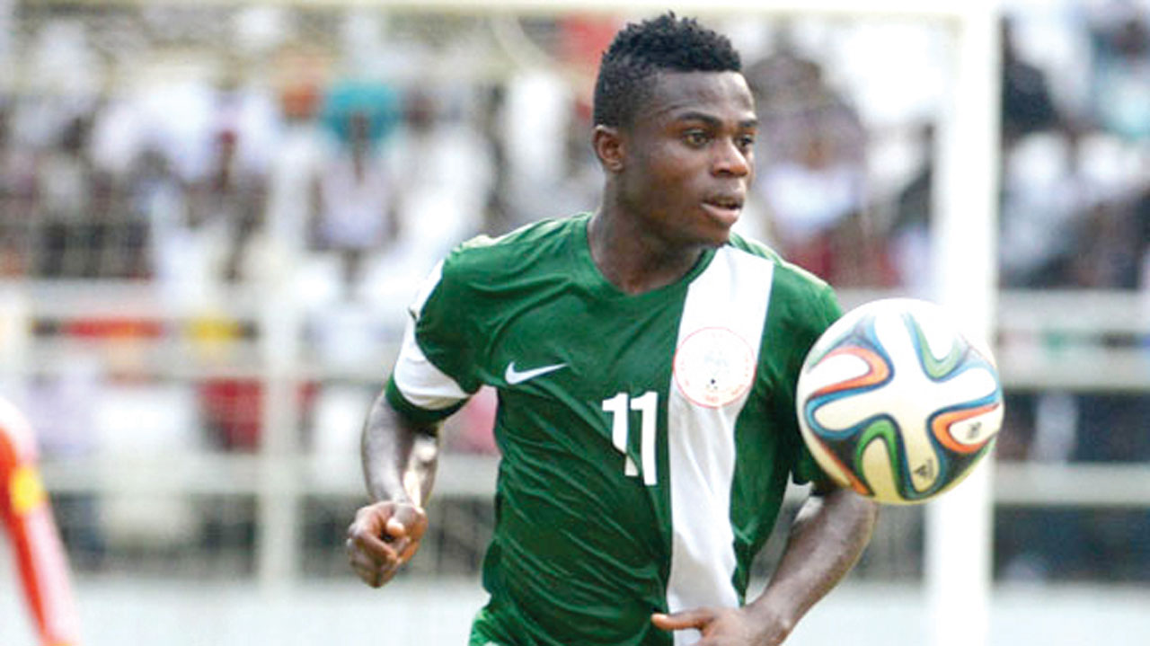 Super Eagles' star Simon Moses will miss Nigeria's matches against Algeria and Argentina due to injury