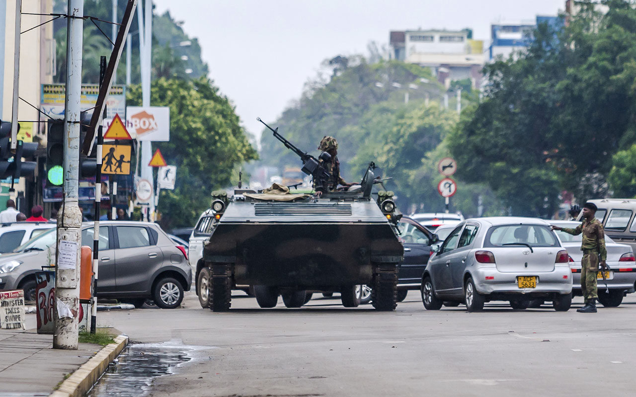 Zimbabwe: Developments since the military takeover