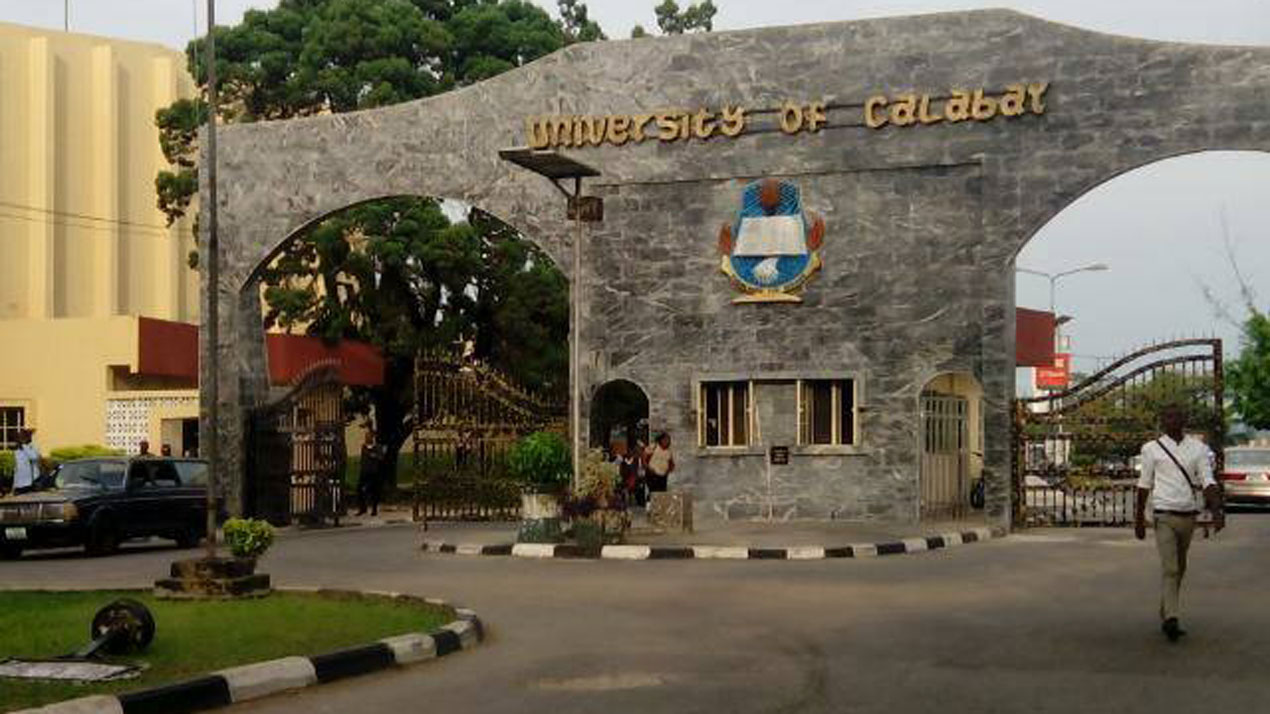 Main Entrance, University of Calabar (UNICAL). Photo: UNICAL